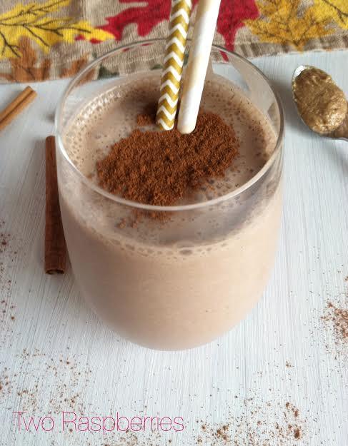 Chocolate Spiced Milkshake - Two Raspberries